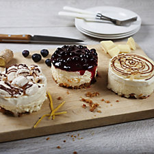 Donald Russell 9 Piece Ultimate Cheescake Selection Box