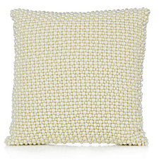 Home Reflections Mini Faux Pearl Cushion