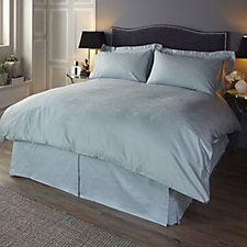 Kelly Hoppen 800TC Cairo Egyptian Cotton Jacquard 6Pc Duvet Set
