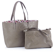 805103 - The Camouflage Company 24/7 Embossed Tote with Cross Body Bag