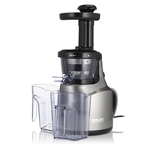 BioChef Cold Press Slow Juicer with Recipe Book - 803804 QvCUK.com