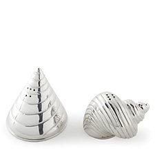 Culinary Concepts Conch & Cone Salt & Pepper Set