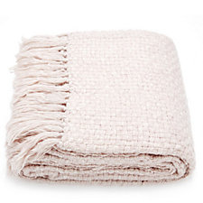 Home Reflections Basket Weave Throw