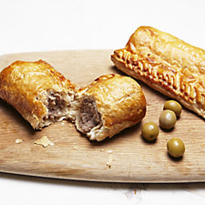 The Real Pie Company 10 Piece Classic & Ploughman's Sausage Roll Pack