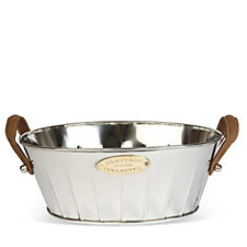 Culinary Concepts Heritage Leather Handled Champagne Bath
