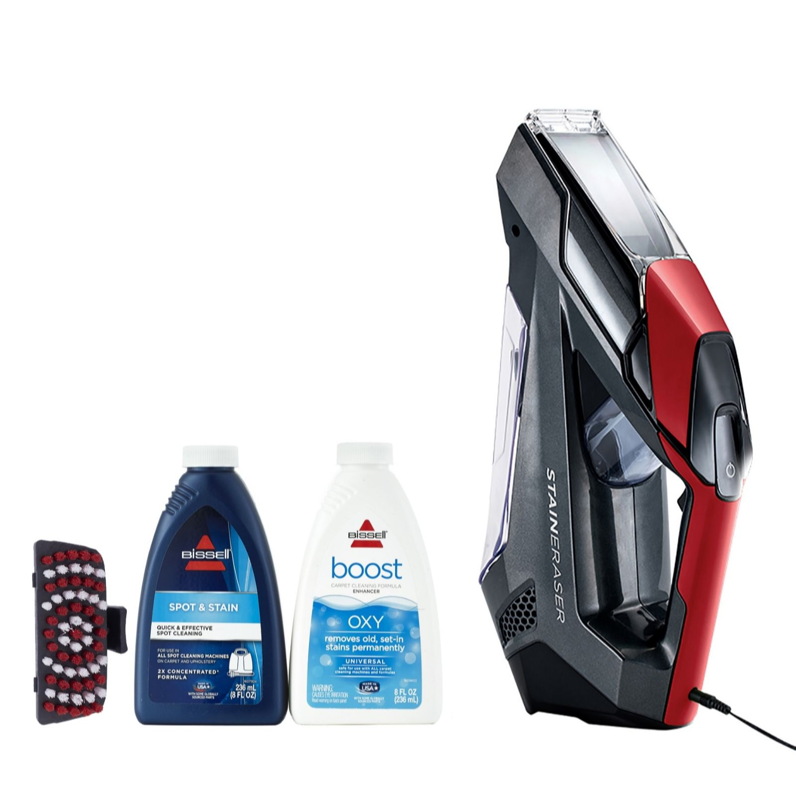 bissell cordless stain eraser handheld carpet u0026 upholstery stain remover