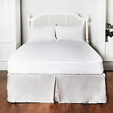 Water Resistant Pinsonic Quilted Mattress&Pillow Protector Set w/ Peachskin Set