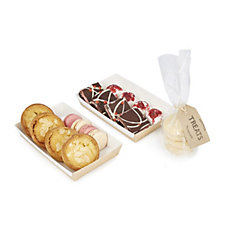 807710 - Heavenly Cakes 20 Piece Luxury Pink Afternoon Tea Selection