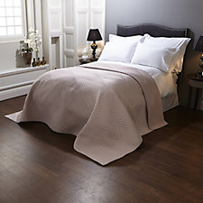 Kelly Hoppen Ikat Embroidered Reversible Bedcover