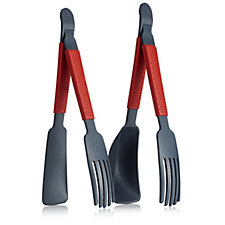 Kuhn Rikon 4 Piece Multi Functional Tongs