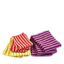 Cook's Essentials 10 Piece Assorted Microfibre Towel Set