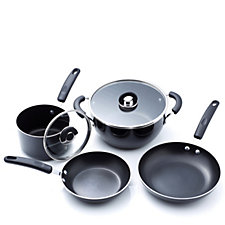 Cook's Essentials 4 Piece Aluminium Cookware Set