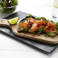 807511 - H Forman & Son 5 x 100g Lean or Fatty Smoked Salmon Selection