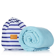 Travel Style Set of 2 Towels in Drawstring Bag