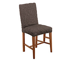 Paulato Textured Stretch Dining Chair Cover