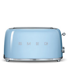 Smeg 4 Slice Toaster with Bun Warmer & 2 Sandwich Racks