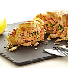 803715 - Simple Simon's 6x 225g Mini Salmon En Croute