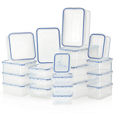Lock & Lock 20 Piece Assorted Storage Set
