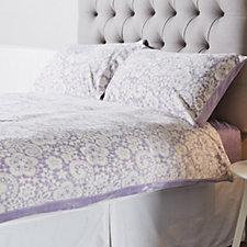 805315 - Cozee Home Velvet Soft Printed 4 Piece Duvet Set