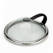 803219 - Cook's Essentials 24cm Cooking Lid with Stirring Hole