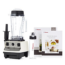Vitamix Creations 2L Blender with Smoothie Bottle, Recipe Book & Tamper Holder
