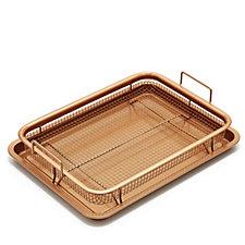 806219 - Copper Chef 2 Piece Copper Crisper