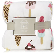 807219 - Cozee Home Ice Cream Sprinkle Plush Throw