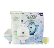 ecoegg 864 Washes White & Colour Laundry Eggs Kit with Wash Counters