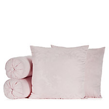 Mayfair Manor Isabella Damask Jacquard Decorative Cushion Set