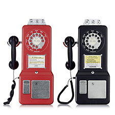 805425 - Churchill's Set of 2 Retro Phonebox Tins with Shortbread Biscuits