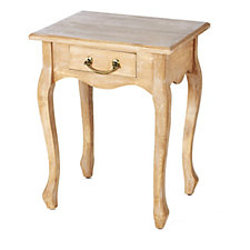 Alison Cork Troussay French Style Oak Side Table
