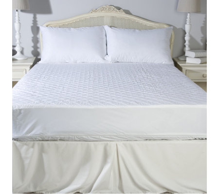 Protect-a-Bed Quilted Top Encased Mattress & Pillow Protector Set