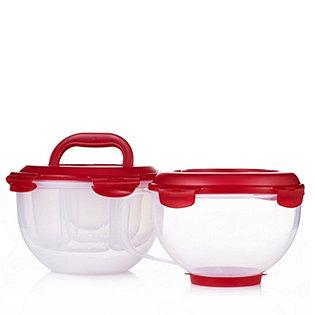 lock lock 2 piece salad to go measuring bowl set. Black Bedroom Furniture Sets. Home Design Ideas