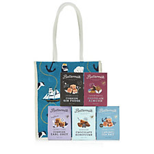 Buttermilk 5 Piece Treat Sharing Selection in Jute Gift Bag