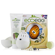 ecoegg 864 Washes Antibacterial White & Colour Laundry Eggs w/ Accessories