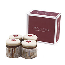 805429 - Meg Rivers Set of 4 Mini Christmas Cake Taster Pack