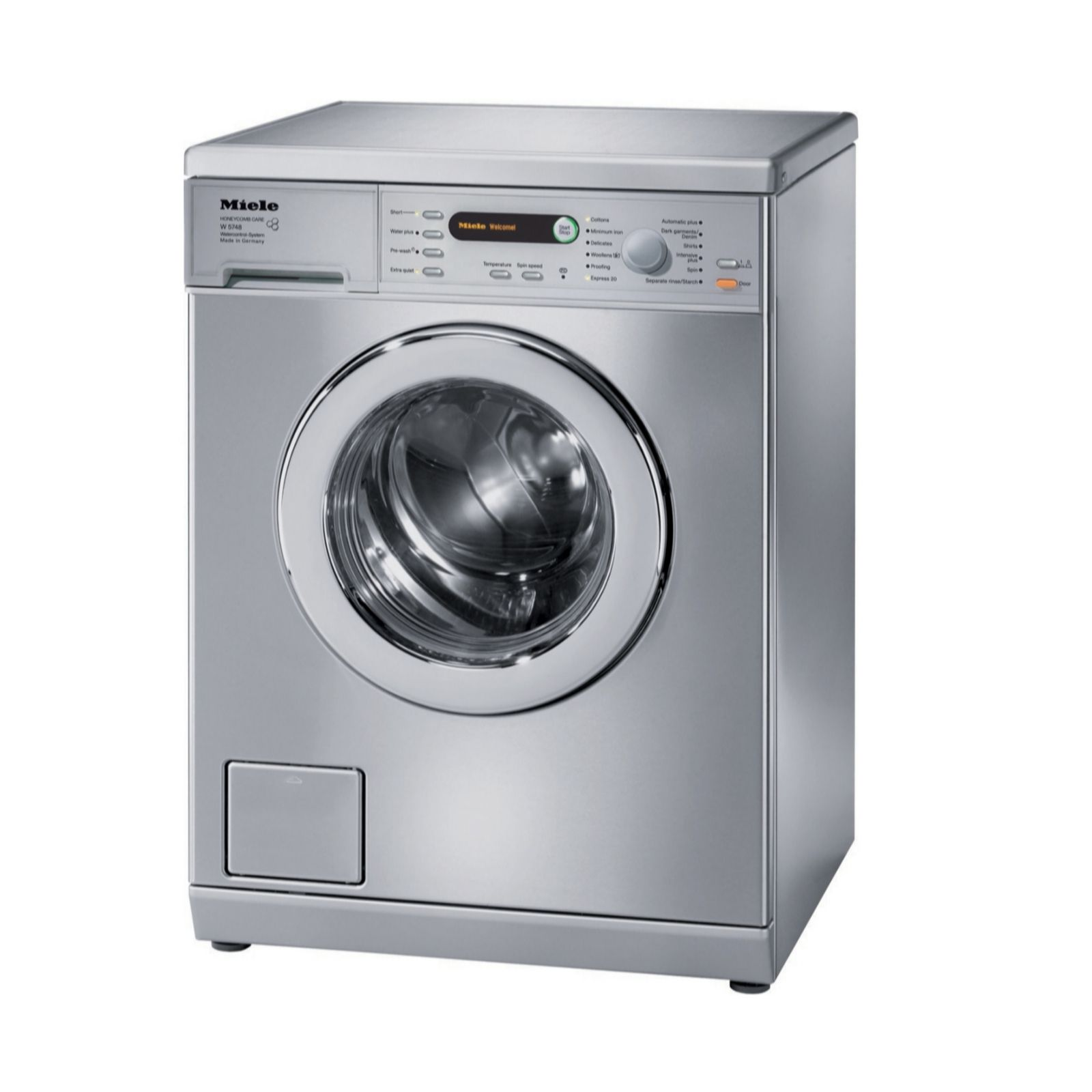 Washing Drying Machine Miele W5748 Washing Machine With 2xcolour 2xwhite Detergents