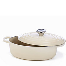Le Creuset Signature Cast Iron 27cm Oval Chef's Pan