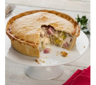 The Real Pie Company Set of 2 Festive Buffet Pies