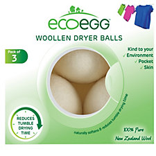 Eceogg Woollen Dryer Balls 3P Kit