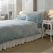 Cozee Home Angel Plush 4 Piece Duvet Set
