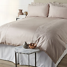Kelly Hoppen 800TC Egyptian Cotton Jaipur Jacquard 6Pc Duvet Set