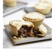 The Real Pie Company Set of 10 Boozy Mince Pies