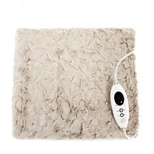Cozee Home Luxury Heated Faux Fur Blanket