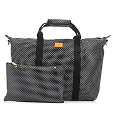 Travel Style Printed Multi Way Weekender with Adjustable Shoulder Strap