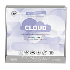 Protect-A-Bed Cushion Cloud 2 in 1 Fitted Sheet Mattress Protector