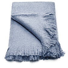 Alison Cork Faux Mohair Throw with 4