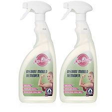 Mrs Gleam Set of 2 x 750ml Instant Mould Remover Spray