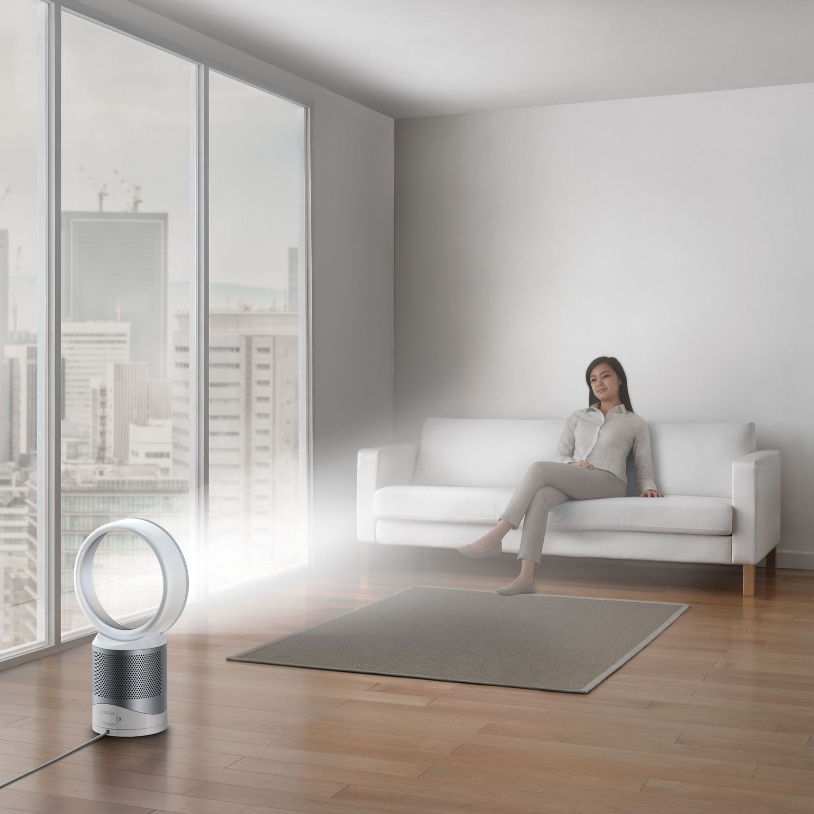 Dyson Pure Cool Link Quiet Purifier Fan with Extra Filter Page 1