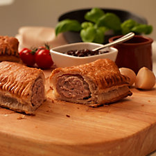 807738 - The Real Pie Company 9 Piece Sausage Roll Selection